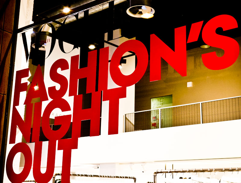 Vogue Fashion Night 2014: la moda nelle strade