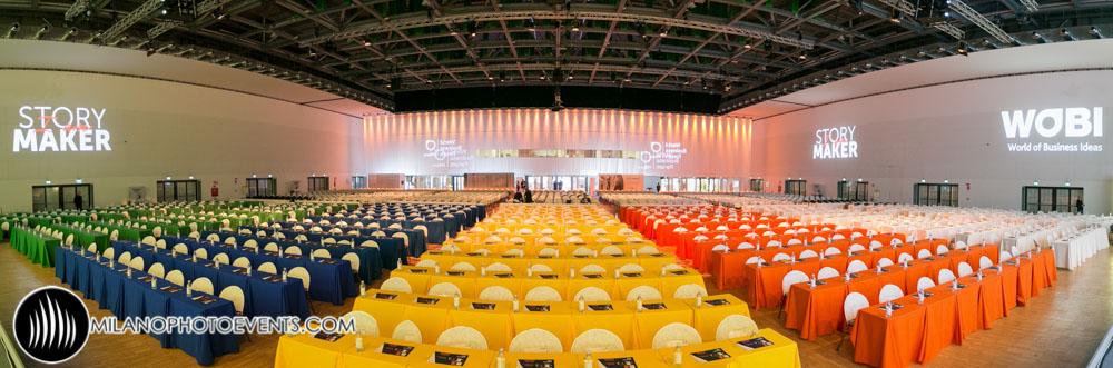 World Business Forum 2016 ready to start..