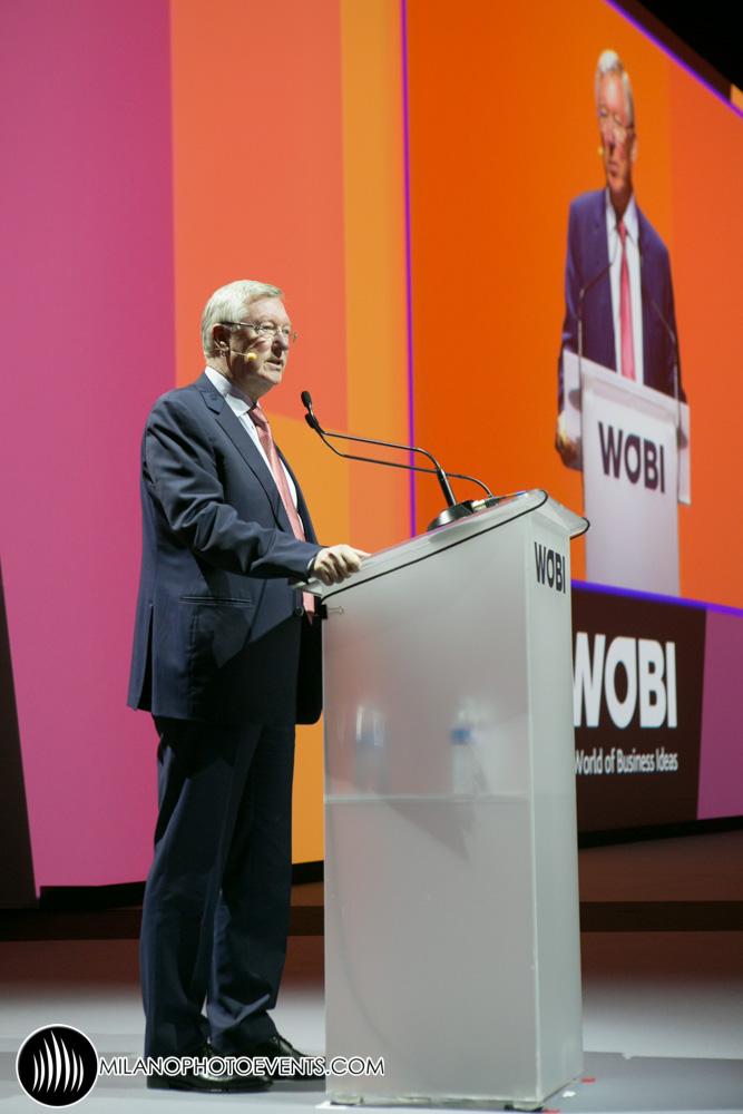 Ferguson speaking at WBF