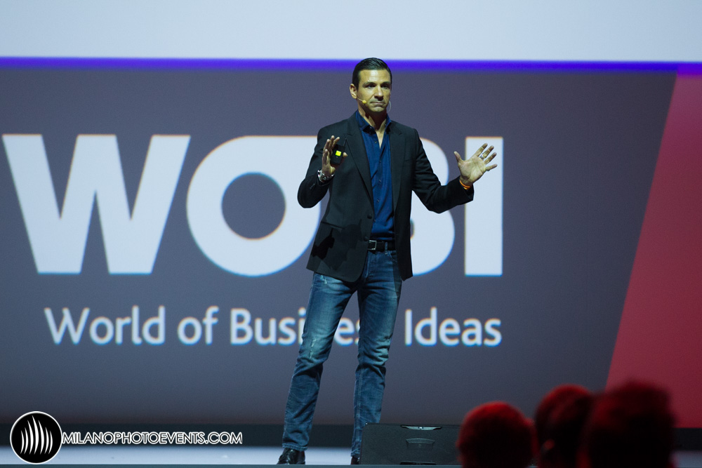 Oscar di Montigny al World Business Forum