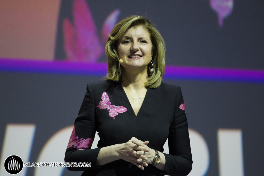 Arianna Huffington al World Business Forum