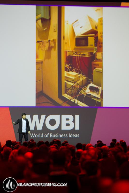 Joichi Ito al WBF