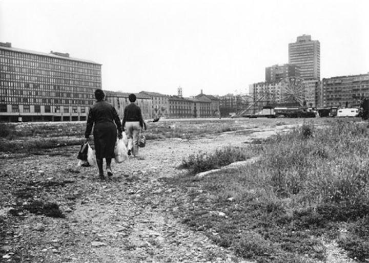 milano porta nuova luna park varesine 1975